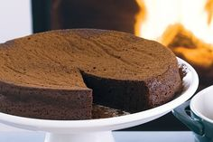 This cake is simply irresistible to chocoholics young and old.