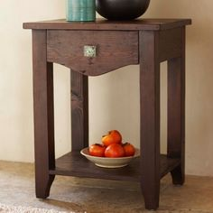 Vintage Fir Classic Side Table | VivaTerra $495