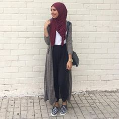"Unique Hijabs on Instagram: ""@saris_hh in our plum jersey hijab. Will be restocked this week. www.uniquehijabs.com"". #hijabfashion #hijabs #hijabstyle"