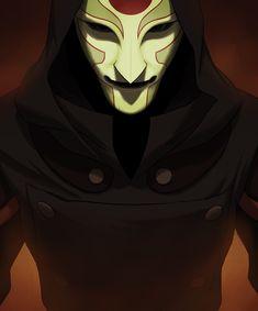 Amon (Avatar: The Legend Of Korra) Image - Zerochan Anime Image Board Blind Girl, Iroh, Azula, Fire Nation, Cyberpunk 2077, High Fantasy, Animation, Cartoon Shows, Legend Of Korra