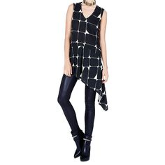 ON SALE NOW  This relaxed-fit block print cotton tee by Sass & Bide will make a playful addition to your wardrobe.  Free Shipping.       Shop this product here: http://spreesy.com/gordonstuartus/418   Shop all of our products at http://spreesy.com/gordonstuartus      Pinterest selling powered by Spreesy.com