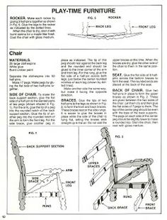 CLOTHESPIN FURNITURE
