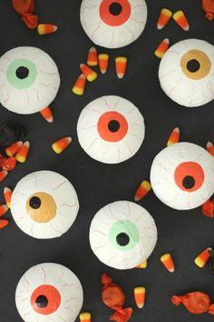 creepy eye party favors