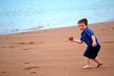 Baseball on the BeachLindsayMcLellanMuttart Shore,  Prince Edward Island