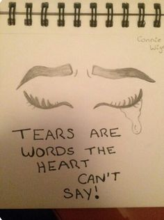 Yes sometimes you just can't speak out the words you so desire to yell out 😢 Sad Drawings, Art Drawings Sketches, Easy Drawings Of Love, Pencil Drawings, The Words, Drawing Quotes, Drawing Ideas, Sad Art, Mood Quotes