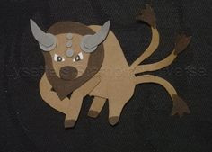 Gotta Craft Them All challenge dag 130: #Tauros #Pokemon https://www.facebook.com/Lysettes.stampin.universe