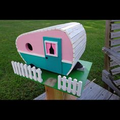 Camper Birdhouse Woodworking Plan by Paul Anderson