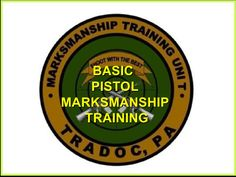 Fundamentals Of Pistol Marksmanship by bubut97 via slideshare