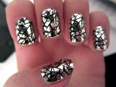 Shattered Mirror Nails