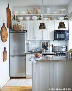 Diy Small Kitchens 22 amazing kitchen makeovers | compact kitchen, apartment kitchen