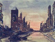 Берлин. Франкфуртер-аллея 1945. Александр Дейнека (1899-1969)