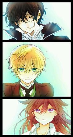 Pandora hearts: Our favourite trio ❤