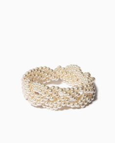 charming charlie | Braided Pearls Bracelet | UPC: 410004478147 #charmingcharlie bridesmaid jewelry
