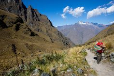 What it's like to trek Machu Picchu everyday with 25kg on your back  ||  The Inca Trail is one of the most famous journeys in South America and is often rated by many to be in the top 5 treks in the world. The epic trek winds up mountain paths to the ancient Incan city of Machu Picchu. The journey isn't easily done, travellers need porters to guide and assist them in…