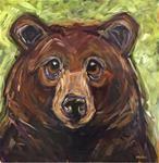 "Daily Paintworks - ""Jude"" - Original Fine Art for Sale - © Kandice Keith Art D'ours, Images D'art, Bear Paintings, Art Et Illustration, Bear Art, Christmas Paintings, Painting & Drawing, Rock Painting, Wildlife Art"