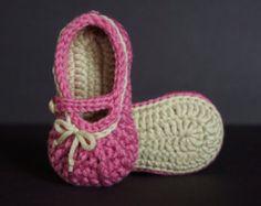 Crochet Baby ShoeCrochet Baby SandalCrochet Baby Flip por jdurayful
