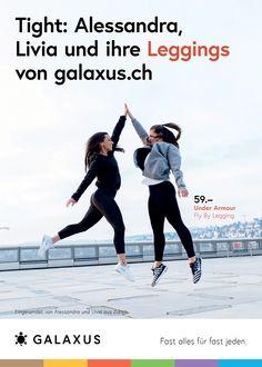 Tight: Alessandra, Livia und ihre Leggings von galaxus.ch #GalaxusLive #Galaxus
