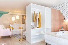 Idea para separar salón del dormitorio
