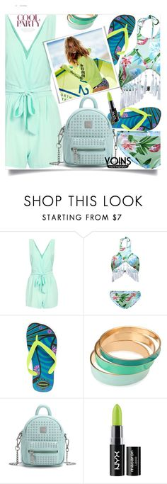 """""""Yoins 5"""" by mell-2405 ❤ liked on Polyvore featuring Havaianas, NYX, yoins, yoinscollection and loveyoins"""