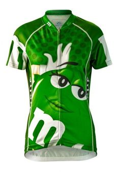 6483923f0 Women s Green M amp Ms Cycling Jersey - FREE SHIPPING in the US - Even more