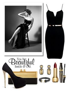 """""""Beauty. ... Inside & Out"""" by conch-lady ❤ liked on Polyvore featuring Sondra Roberts, Giuseppe Zanotti, Bourjois, Christian Dior and David Yurman"""