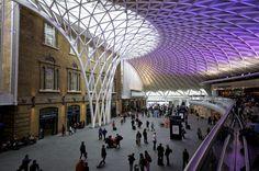 King's Cross Station - John McAslan + Partners  #architecture #arquitectura #station #kingcross #london #londres #estacion