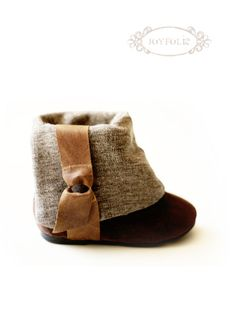 For my Future Baby Girl! baby boots (inspired by photograph) - designer is brilliant