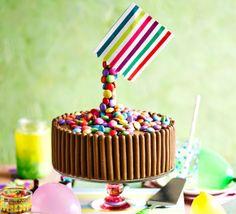 Gravity-defying sweetie cake