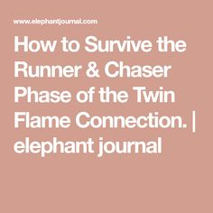 How to Survive the Runner & Chaser Phase of the Twin Flame Connection. How to Survive the Runner & Chaser Phase of the Twin Flame Connection. Twin Flame Stages, Twin Flame Love, Twin Flames, Twin Flame Relationship, Relationship Posts, Relationships, Twin Flame Runner, Twin Flame Quotes, Soulmate Connection