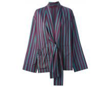 90's Romeo Gigli oversize striped jacket from A.N.G.E.L.O. Vintage - shop.angelo.it