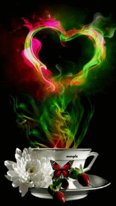 Discover & share this Coffee GIF with everyone you know. GIPHY is how you search, share, discover, and create GIFs. I Love Coffee, Coffee Art, Hot Coffee, Gif Pictures, Free Pictures, Beautiful Gif, Beautiful Flowers, Good Night, Good Morning