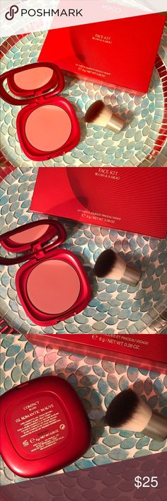 😍Kiko Romantic Mauve Face Kit 😍 Fabulous blush kit from the Italian makeup brand Kiko Cosmetics! Beautiful matte mauve shade of blush, and a short handled kabuki brush. Vibrant limited edition red packaging, this set is sold out and no longer available for purchase. Ask questions! I have so many other makeup listings available, take a look around! Bundle and SAVE 💜💜 Kiko Cosmetics Makeup Blush