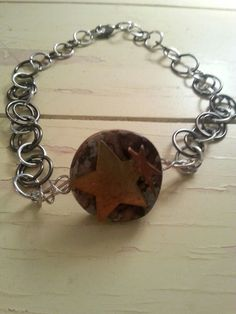 Rustic Chainmaille Anklet