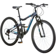 275 Mongoose R4054WMC Ledge 21 Mens Bike for a Path Trail  MountainsNavy Aluminum Full Suspension Frame Twist Shifters Through 21 Speeds ** See this great product.