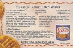 P-nut cookies 1992