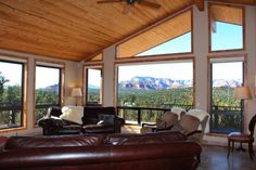 Full Glass Windows - 203 Bristlecone Pines Rd, West Sedona, Listed with Rob Schabatka from RE/MAX Sedona.