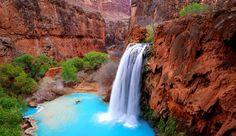 Havasu Waterfalls Arizona