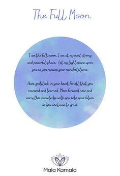 The Full Moon - Mala Kamala Mala Beads Symbolism: Gratitude and letting go. Reflection and release. Gemstones for the full moon: Smoky quartz, lemon quartz, sunstone, indian agate.