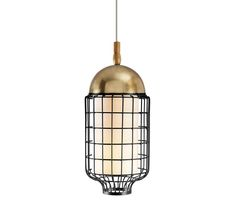 suspension lamp ø: 11 in h: 23 in cup and structure lacquered metal/brass/copper, optional ring metal/brass/copper and cotton shade energy saving bulbs..