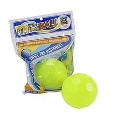 Blitzball Plastic Baseball Pack) Backyard baseball/wiffle toy balls) High-performance plastic construction Patent-pending design offers maximum curve, speed and distance Weighs just under 1 oz. Made in the USA Baseball Training, Sports Training, Cat Scratch Disease, Backyard Baseball, Sports Games For Kids, Eyebrow Grooming, Packing, Plastic, Toys