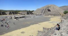 Pyramids of the Sun and Moon – Teotihuacan, Mexico