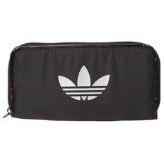 adidas Originals BIG GLAM Wallet ($20) ❤ liked on Polyvore featuring bags, wallets, fillers, accessories, black, women's accessories, adidas originals, black bag, black wallet and adidas originals bag