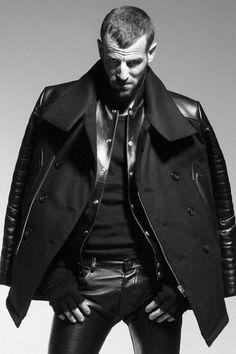 362ef1dc01738 HOON 2013 Fall Winter Lookbook Men s Leather, Black Leather Vest, Leather  Trousers,