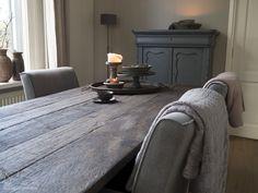 De hortensiatuin: De nieuwe tafel