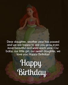 Happy Birthday Quotes For Daughter Love Quotes Daughter  Birthday Quotes  Pinterest  Happy Birthday .