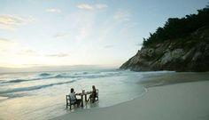 Seychelles - Beach meal - North Island