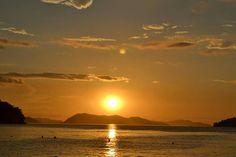 Atardecer en  Playa  Colorada,  Estado  Sucre,  Venezuela.