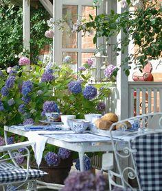 Gartengarnitur weiß