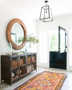 Entrance room perfection  Stunning interior design by Heather Bullard.