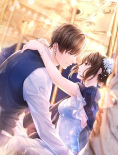 Love and Producer Anime Couples Drawings, Anime Couples Manga, Handsome Anime Guys, Cute Anime Guys, Anime Love Couple, Manga Couple, Romantic Anime Couples, Cute Couples, Cute Anime Coupes